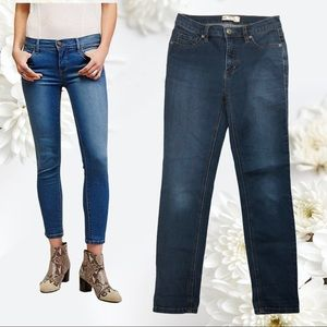 Size 26 Free People Cotton Blend Skinny Jeans